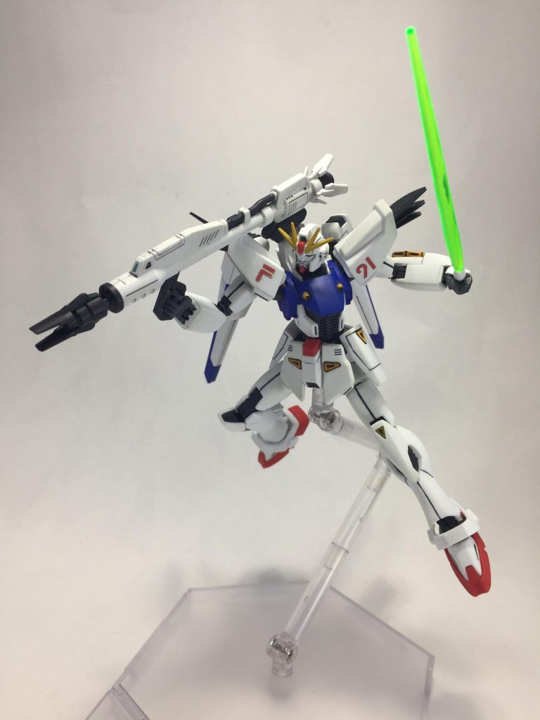 ガンダムF91 アピールショット4