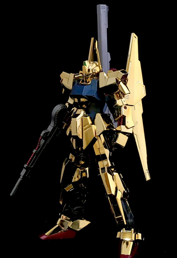 百式 HG1/144 ガンダムベース限定ゴールドコーティング