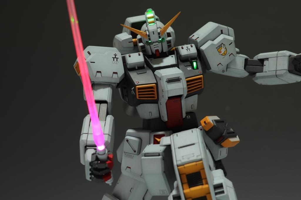 ガンダムTR-1 ヘイズル改 電飾改造