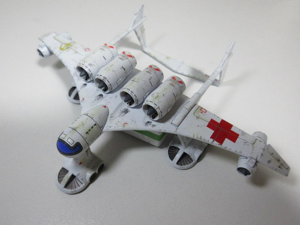 地球連邦軍 病院船ミデア|@RXJ_13さんのガンプラ作品|GUNSTA ...