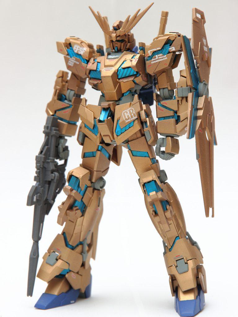 HGUC ユニコーンガンダム3号機 フェネクス ナラティブ版 アピールショット4