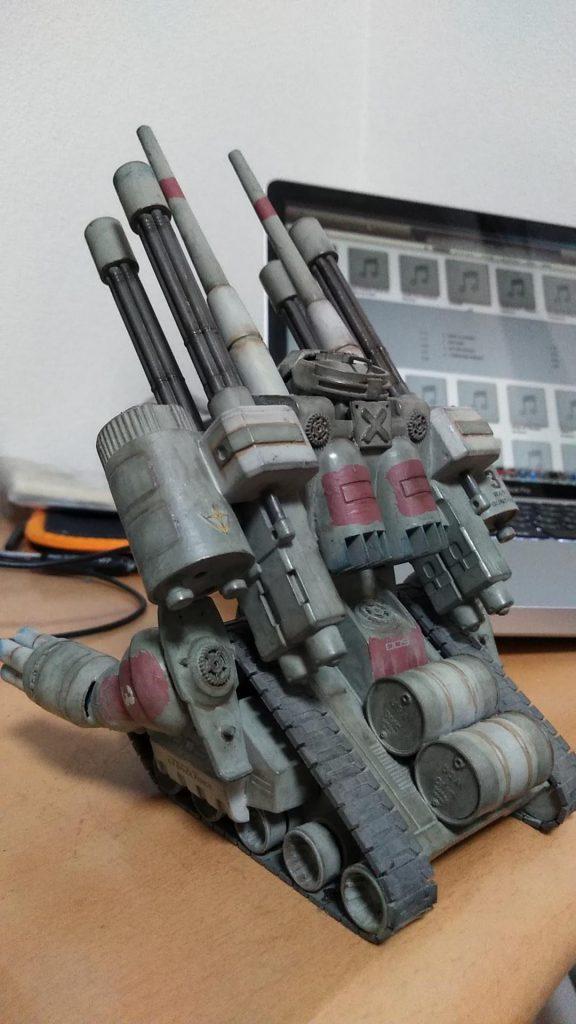 対空強化型ガンタンク アピールショット3