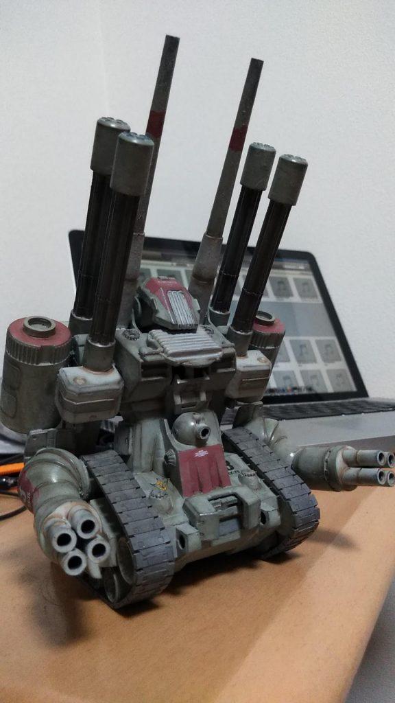 対空強化型ガンタンク アピールショット1