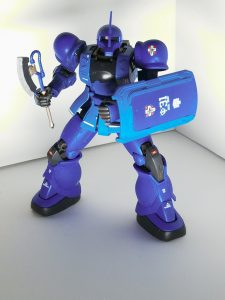 The origin版ランバ・ラル専用ザクⅠ