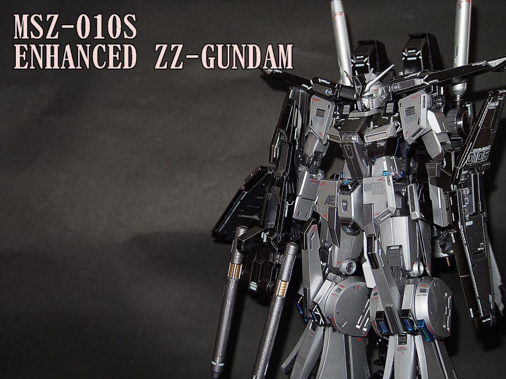 MG1/100強化型ZZガンダムVer.Ka