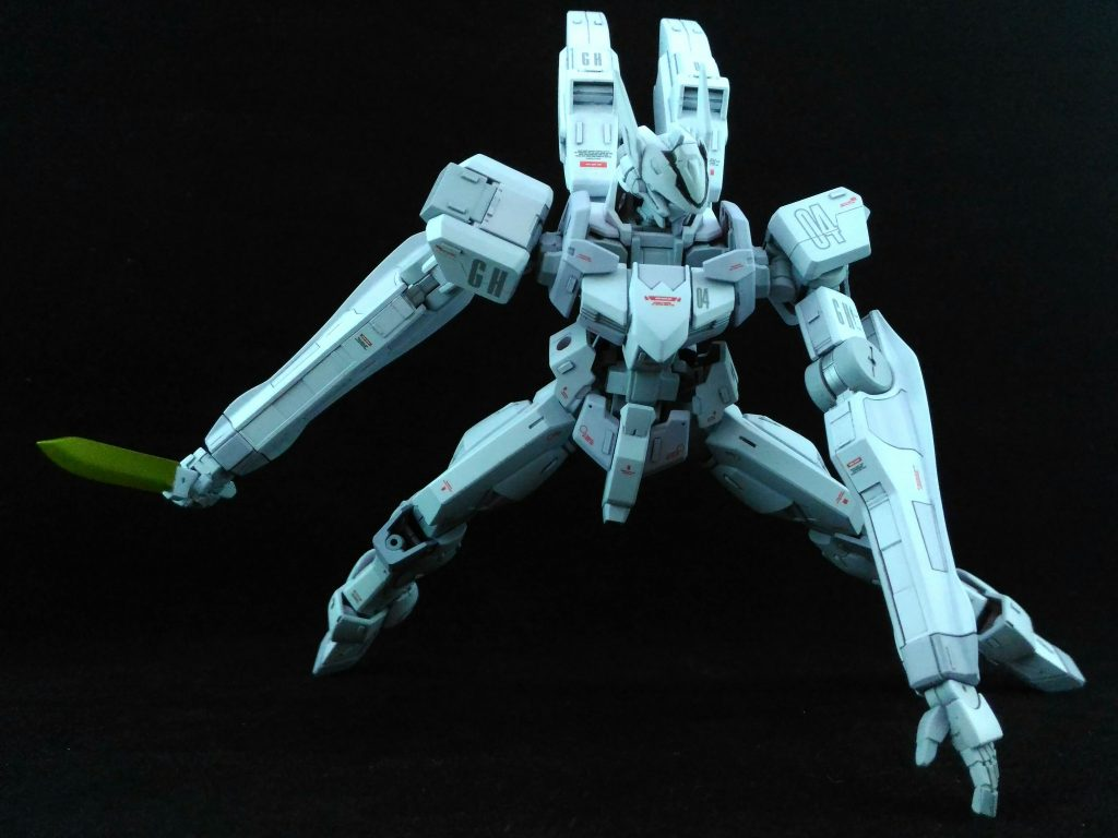 白い死神~LIGHT RAZE~ 制作工程1