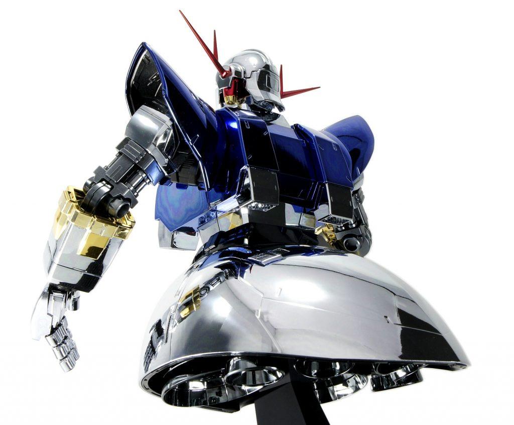 MG ジオング (メッキ) アピールショット4