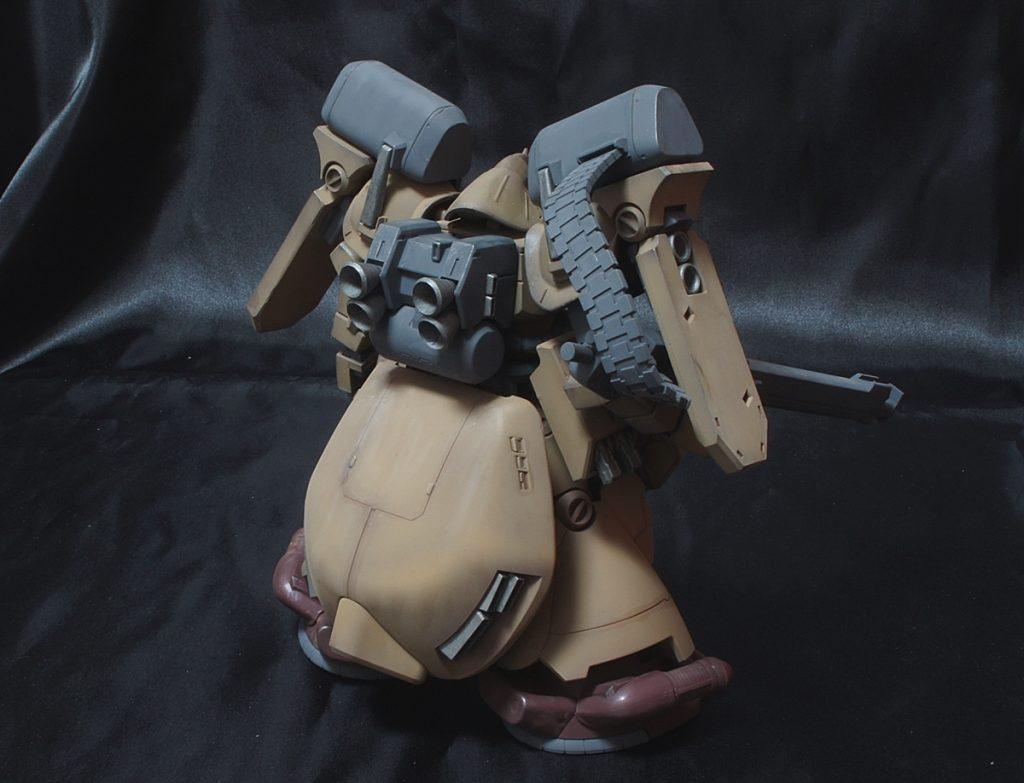 HGUC ゼクアイン 陸戦型 アピールショット2