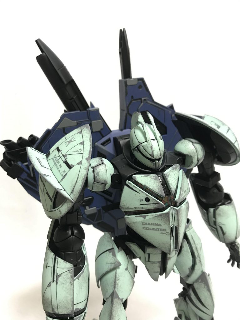 MG 1/100 CONCEPT-X6-1-2 ターンX ウェザリング アピールショット7