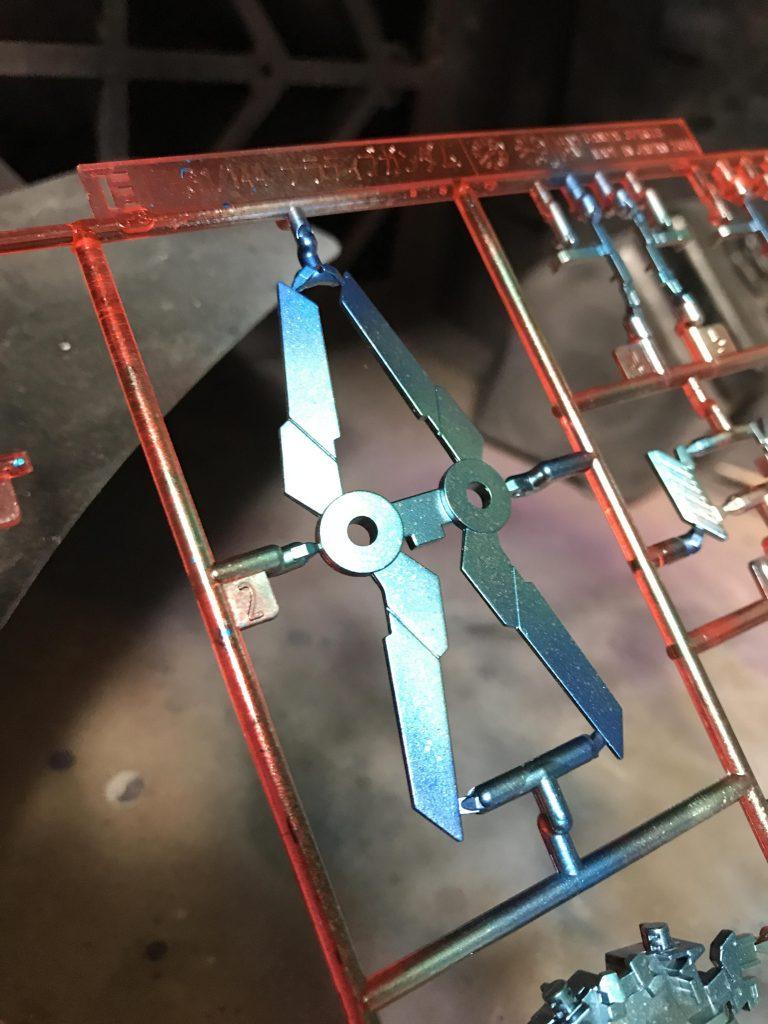 ナラティブガンダム C装備 制作工程2