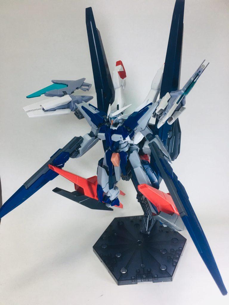 ガンダムザラキエル最終決戦装備 制作工程3