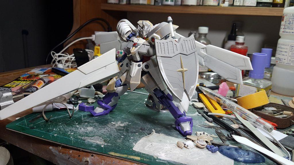 リアルタイプ 聖騎士ガンダム 制作工程3