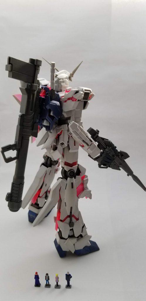 MG RX-0 ユニコーンガンダム アピールショット2