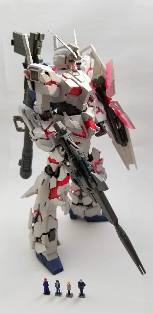 MG RX-0 ユニコーンガンダム アピールショット1