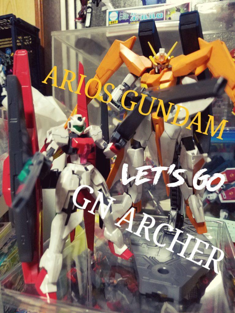ARIOS GUNDAM&GN ARCHER
