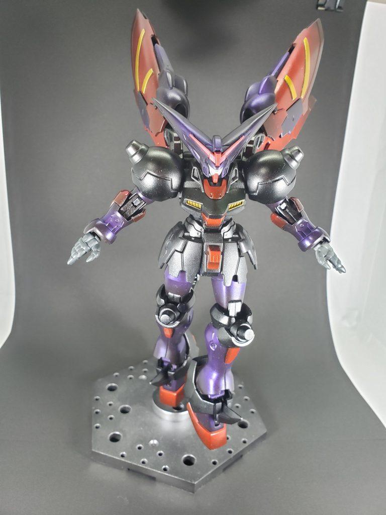 EXVSシリーズ風 マスターガンダム アピールショット1