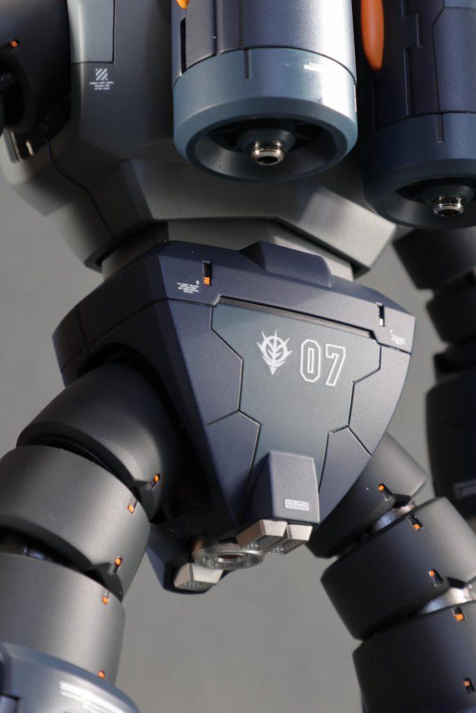 MG1/100 MSM-07ズゴック 制作工程2