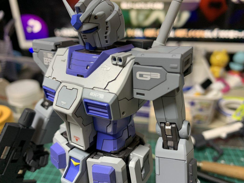 オリジン版RX-78-3 ガンダム 制作工程4