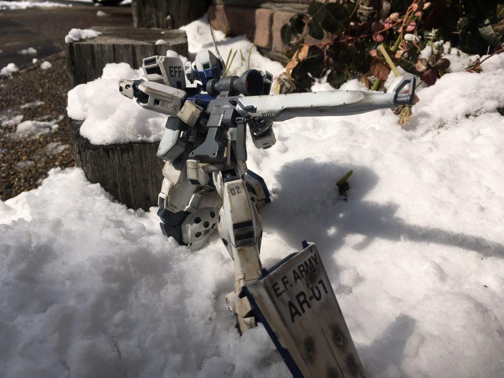 雪上の狙撃手