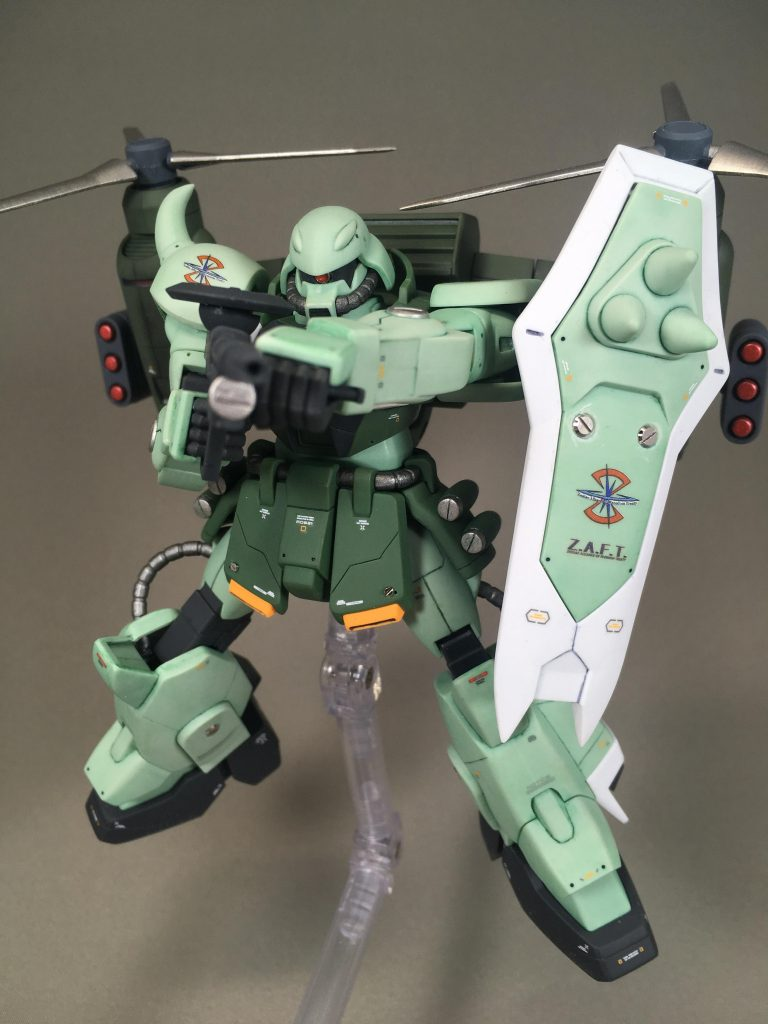 ZAKU WARRIOR – Gatling Tempest アピールショット5