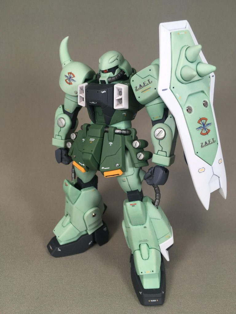 ZAKU WARRIOR – Gatling Tempest アピールショット2