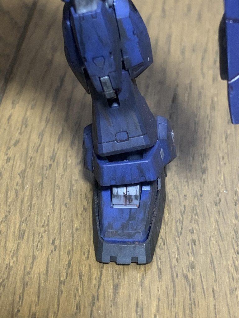 第9作目 RG ガンダムマークII ティターンズ アピールショット1