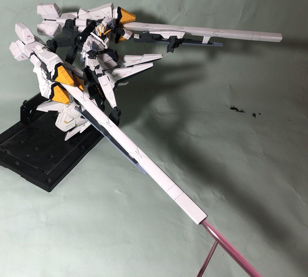 RX-9 ナラティブガンダムA装備 制作工程3