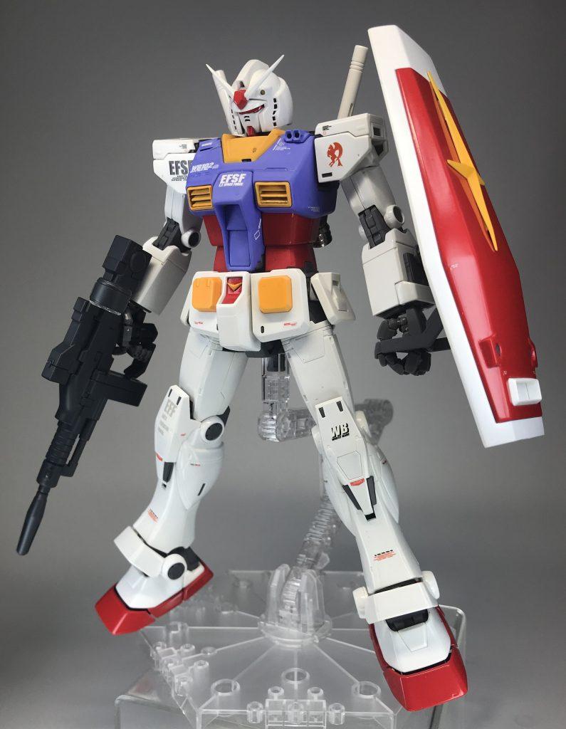 MG RX-78-02 ガンダム (ORIGIN版)マット&グロス仕様