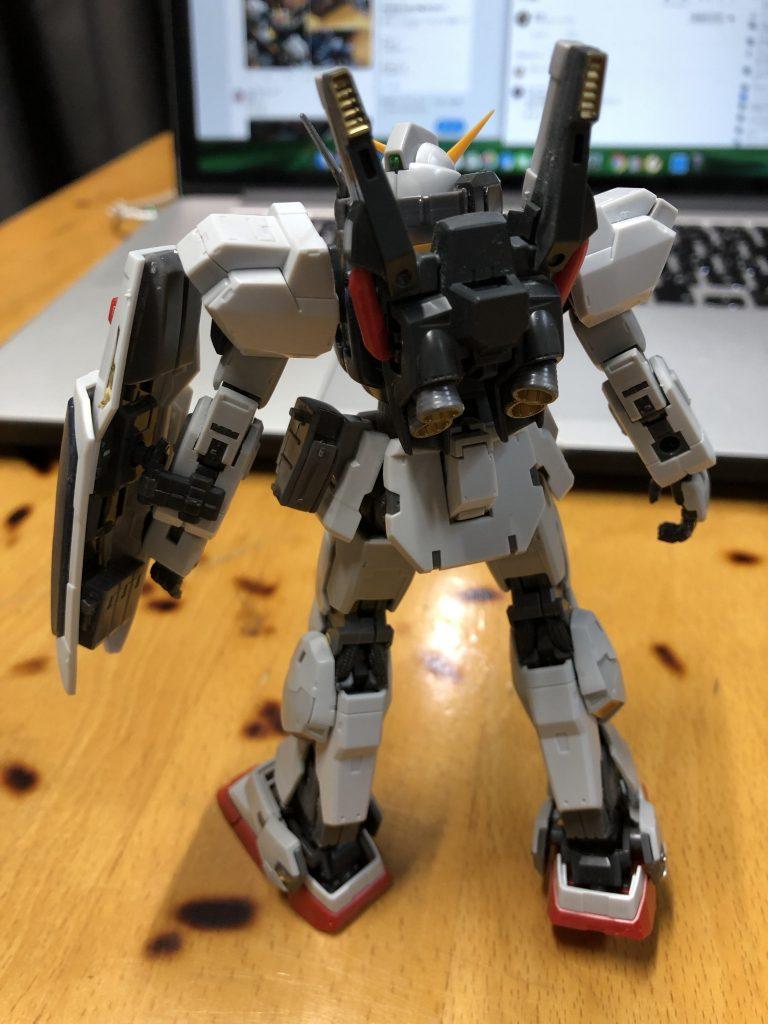 RG 1/144 RX-178 ガンダムMk-II (エゥーゴ仕様) 制作工程6