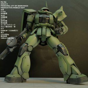 MG MJ-06J ZAKU II 戦場風