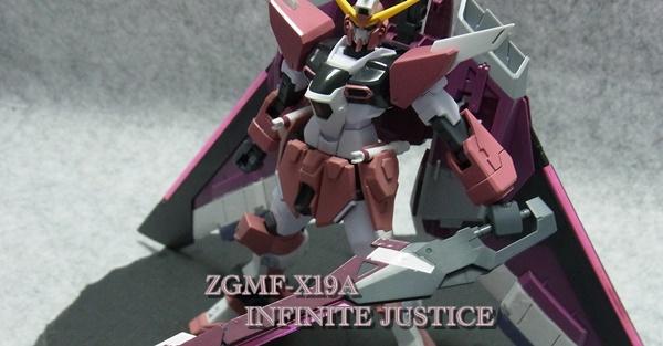 HG ZGMF-X19A インフィニットジャスティス