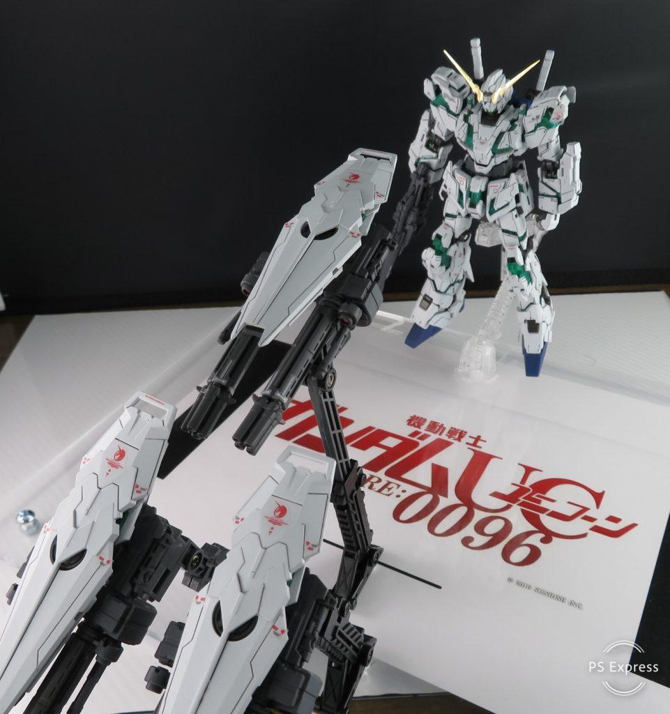 RG FULL ARMOR UNICORN GUNDAM アピールショット4