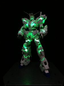 ユニコーンガンダムライティングモデル