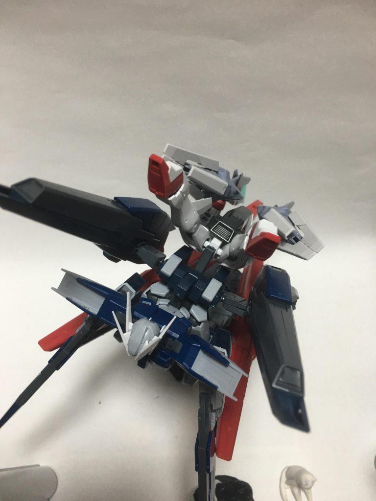 ガンダムザラキエル最終決戦装備 制作工程2