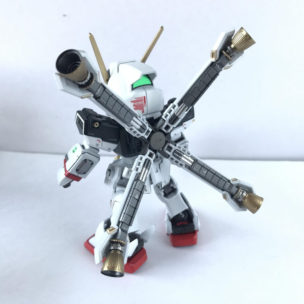 SDCS クロスボーンガンダムX1改・改 スカルハート アピールショット3