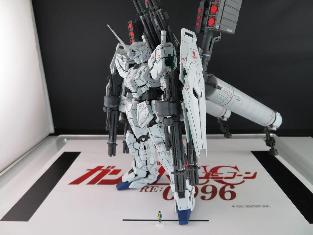 RG FULL ARMOR UNICORN GUNDAM 制作工程2
