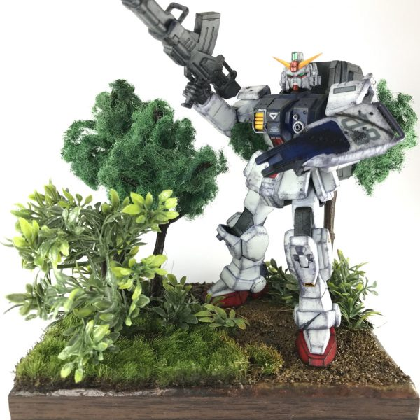 Battle in the viridian〜陸戦型ガンダム