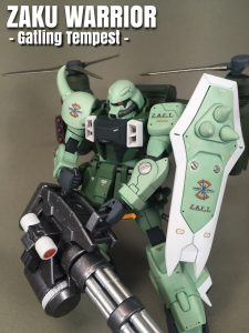 ZAKU WARRIOR – Gatling Tempest