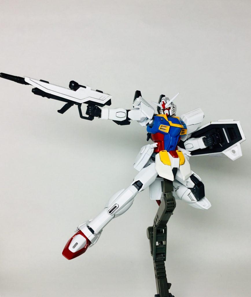 フリーダムガンダム ver.RX-78〔ゼロ〕 制作工程2