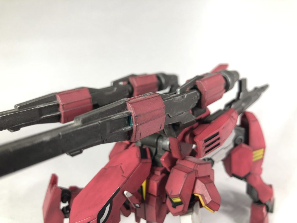 HG ガンダムフラウロス(四代目流星号) アピールショット4