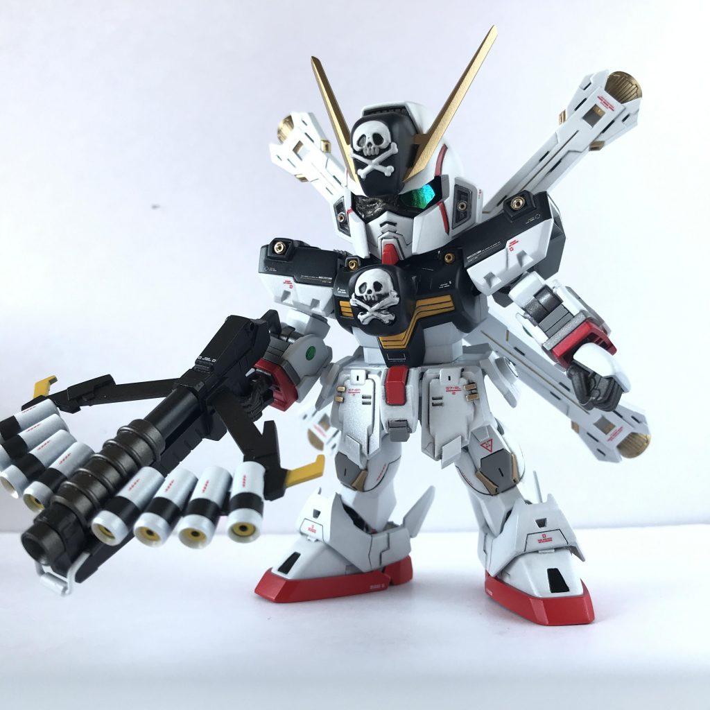 SDCS クロスボーンガンダムX1改・改 スカルハート アピールショット1