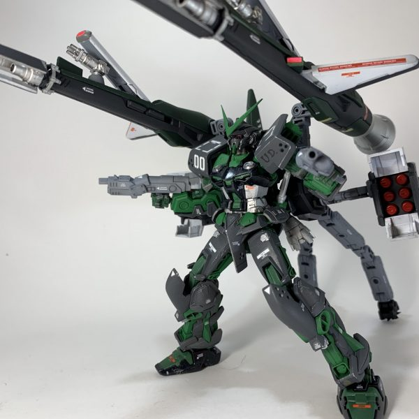 "MBF-P04 ASTRAY GREEN FRAME ""火雷(Hono-ikazuchi)"""