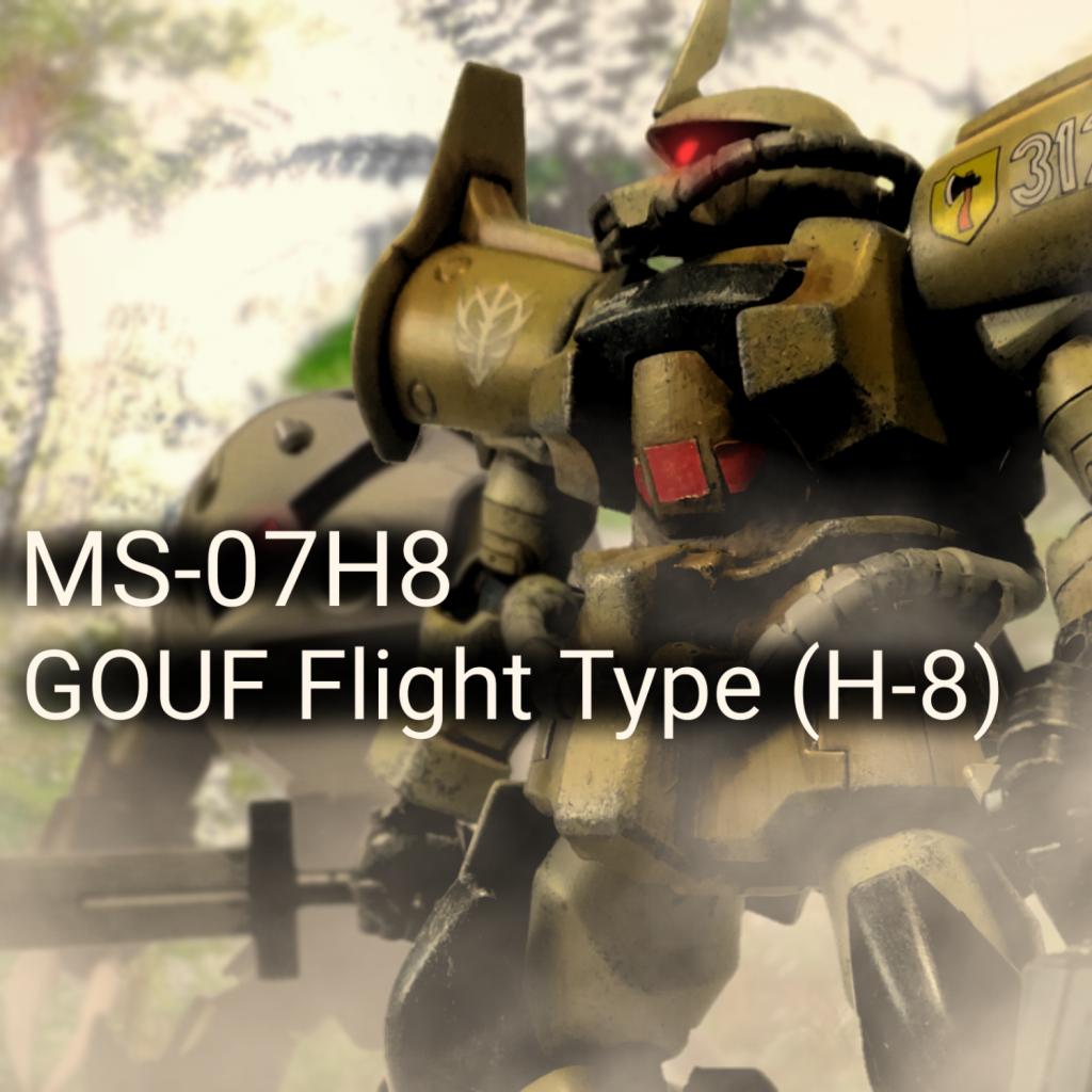MS-07H8 グフフライトタイプ(グレーゴール・ノイベルト機)