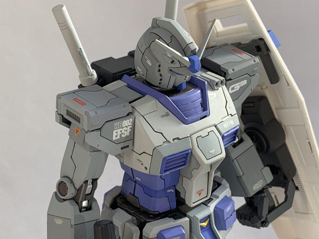 オリジン版RX-78-3 ガンダム アピールショット3