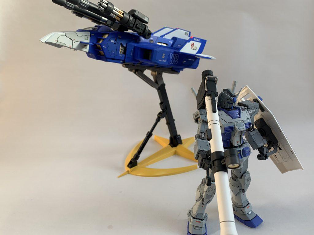 オリジン版RX-78-3 ガンダム アピールショット7