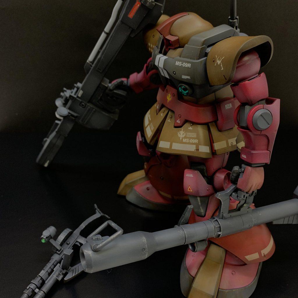 MG リックドム アピールショット3
