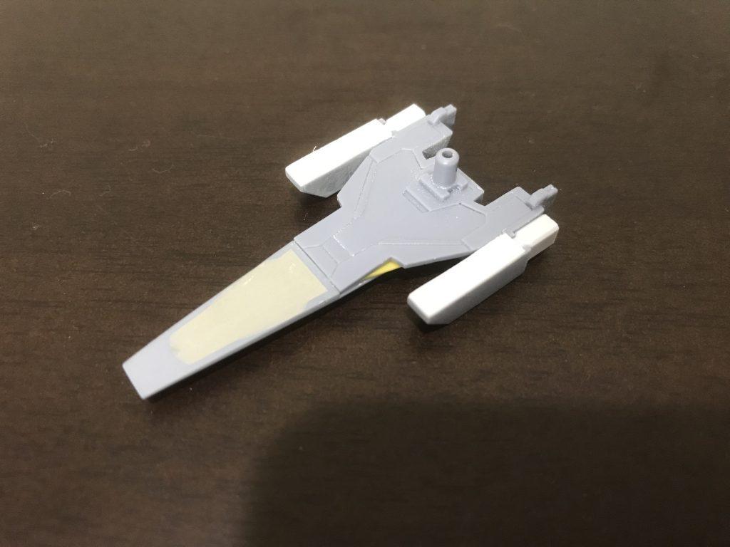 ガンダムAGE-IIトランジェントマグナムメサイア 制作工程3