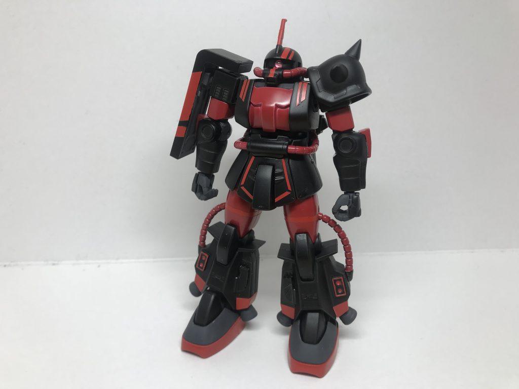 鉄味噌専用 高機動型ザク アピールショット1