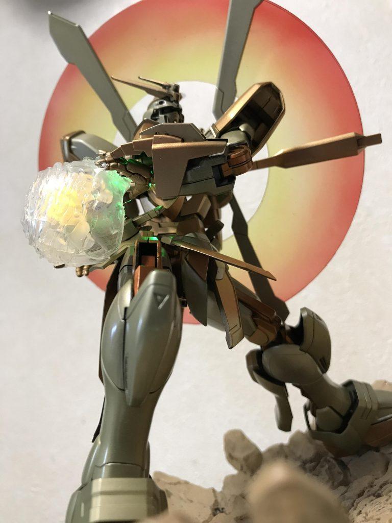 ゴッドガンダム明鏡止水 制作工程5
