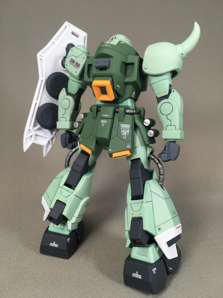 ZAKU WARRIOR – Gatling Tempest アピールショット3